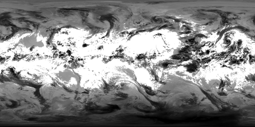 Planet Earth Texture Maps